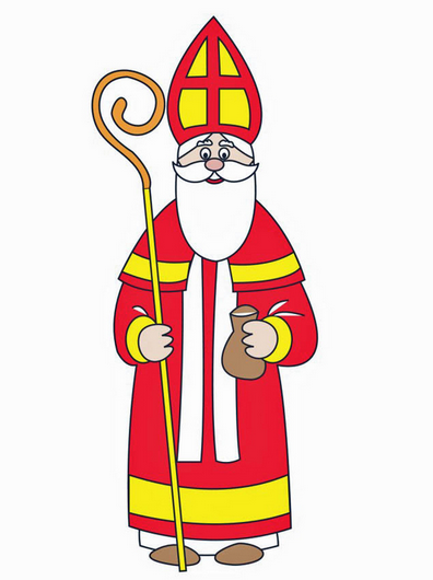 besuch vom nikolaus   a visit from st nick german First Day of Summer Clip Art summer day camp clipart
