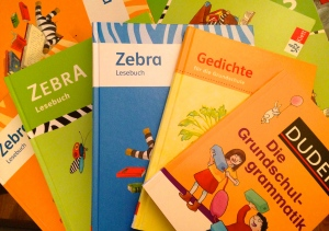 Selection of books provided by ZfA